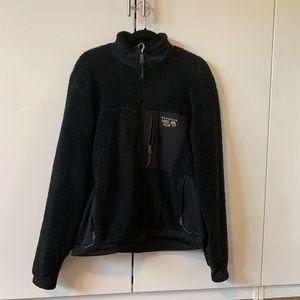 🌲Mountain hardware Black Zip Jacket Large Sweater